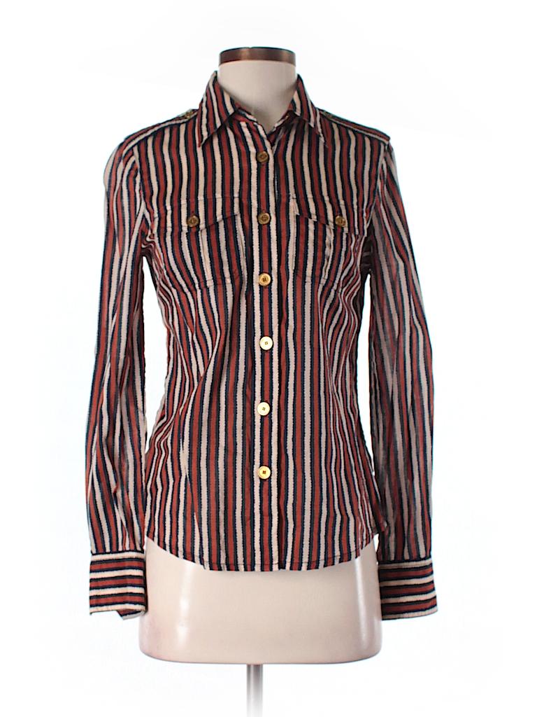 Tory burch long sleeve button down shirt 77 off only on for Tory burch button down shirt