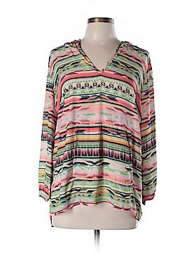 Karen Kane Long Sleeve Blouse Size 0X (Plus)