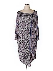 Isabel + Alice Women Casual Dress Size 1X (Plus)