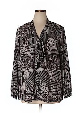Isabel + Alice Long Sleeve Blouse Size 1X (Plus)