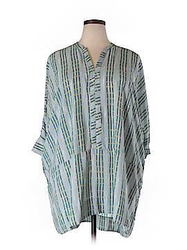 Melissa McCarthy Seven7 3/4 Sleeve Blouse Size L (Plus)