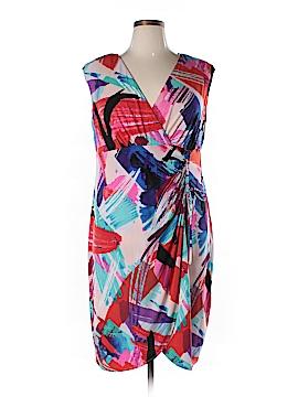 London Times Casual Dress Size 14 W (Plus)