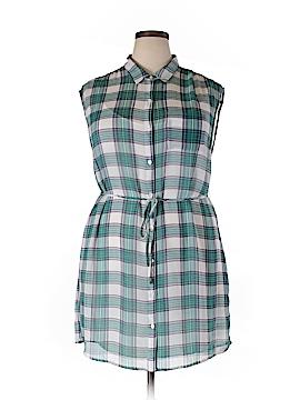 BB Dakota Sleeveless Blouse Size 1X (Plus)