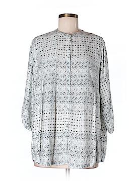 Carmakoma 3/4 Sleeve Blouse Size 16 Plus (S) (Plus)