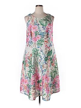 Gabby Skye Casual Dress Size 16 W (Plus)