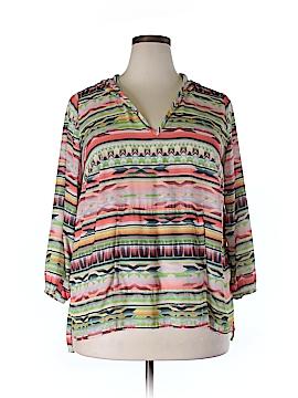 Karen Kane 3/4 Sleeve Blouse Size 1X (Plus)