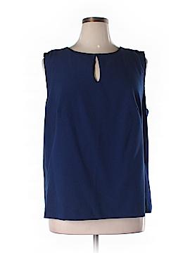 Enlo Sleeveless Blouse Size 16 W (Plus)