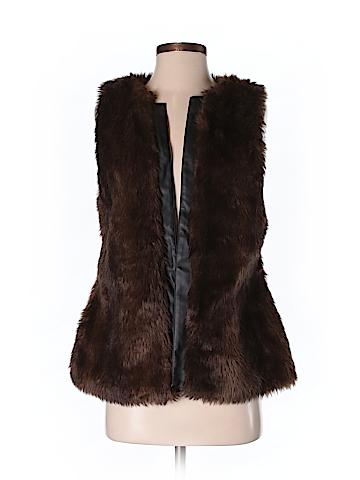 Sanctuary Women Faux Fur Vest Size S