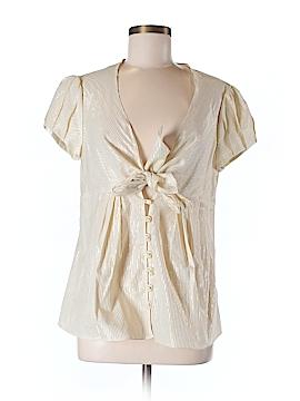 Cynthia Cynthia Steffe Short Sleeve Blouse Size M