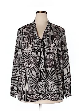 Isabel + Alice Long Sleeve Blouse Size 5X (Plus)