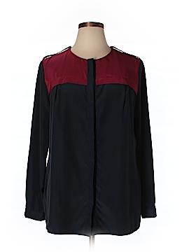 MBN Long Sleeve Button-Down Shirt Size 1X (Plus)