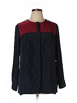 MBN Long Sleeve Button-Down Shirt Size 0X (Plus)