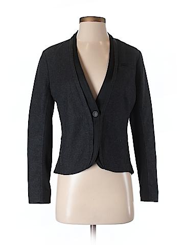 Simply Vera Vera Wang Women Wool Blazer Size S (Petite)