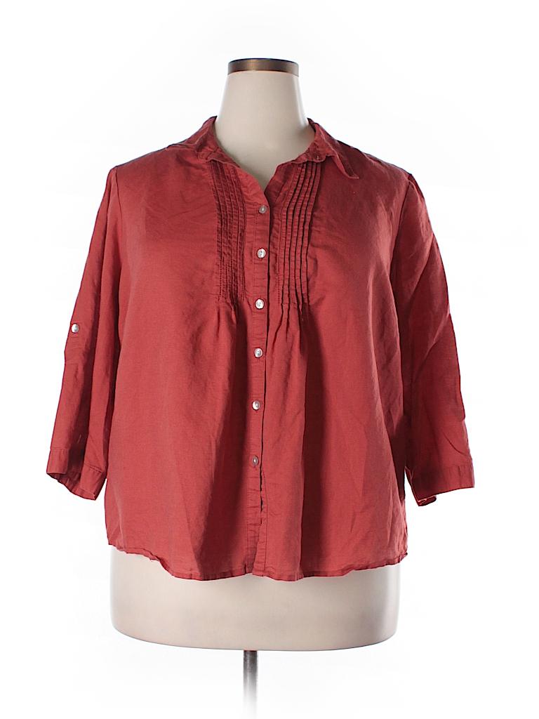 Croft Barrow Short Sleeve Button Down Shirt 59 Off