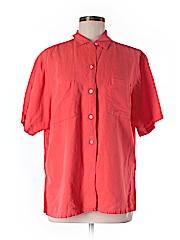 Gap Short Sleeve Button-Down Shirt Size M