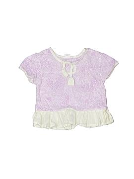 Egg Baby Short Sleeve Blouse Size 6-12 mo