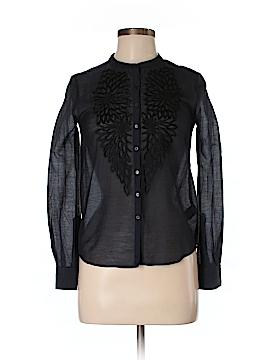 Antik Batik Long Sleeve Button-Down Shirt Size XS