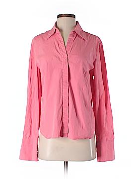 Oilily Long Sleeve Button-Down Shirt Size 40 (EU)