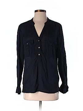 Violeta by Mango Long Sleeve Button-Down Shirt Size XS