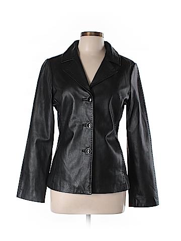 Trina Turk Leather Jacket Size M