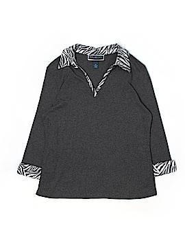 Karen Scott 3/4 Sleeve Polo Size L (Petite)