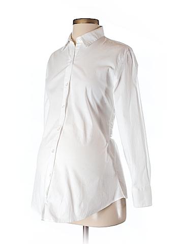 Isabella Oliver Long Sleeve Blouse Size 2 (Maternity)