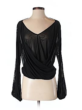Bebe Long Sleeve Blouse Size S