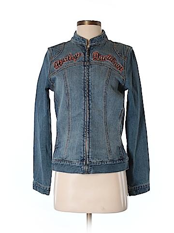 Harley Davidson Denim Jacket Size XS