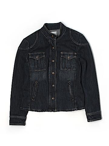 Live A Little Women Denim Jacket Size M