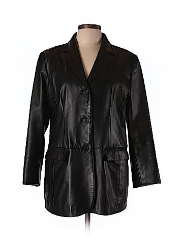 DANIER Leather Jacket Size 12