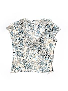 Clio Short Sleeve Blouse Size M