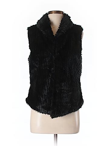 Bagatelle Women Faux Fur Vest Size S