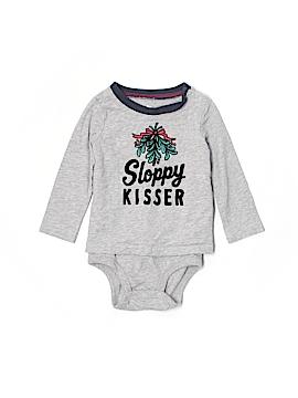 Baby B'gosh Long Sleeve Onesie Size 12 mo