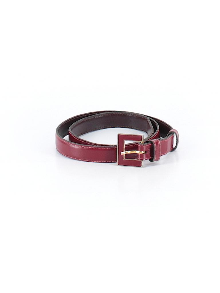 Yves saint laurent 100 leather solid burgundy leather for Bureau yves saint laurent