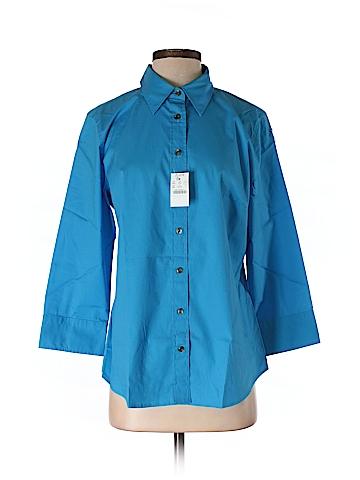 J. Crew 3/4 Sleeve Button-Down Shirt Size 7