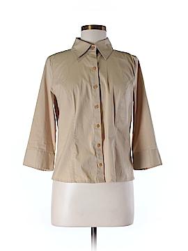 Apostrophe 3/4 Sleeve Blouse Size M (Petite)