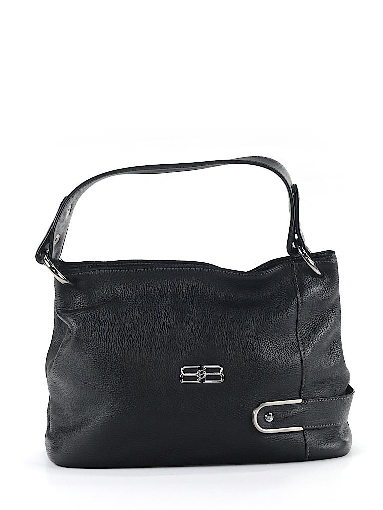 Balenciaga 100% Leather Solid Black Leather Shoulder Bag One Size ... 235d8676af2d8
