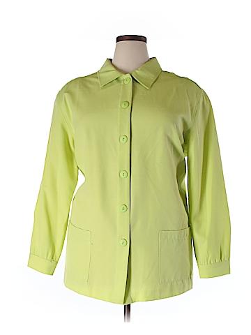 Kathie Lee Long Sleeve Button-Down Shirt Size 22/24 (Plus)