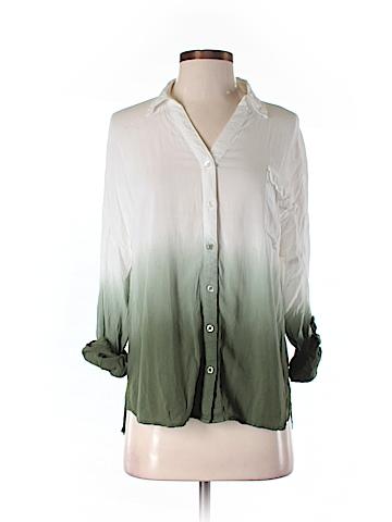 Blu Pepper Long Sleeve Button-Down Shirt Size M