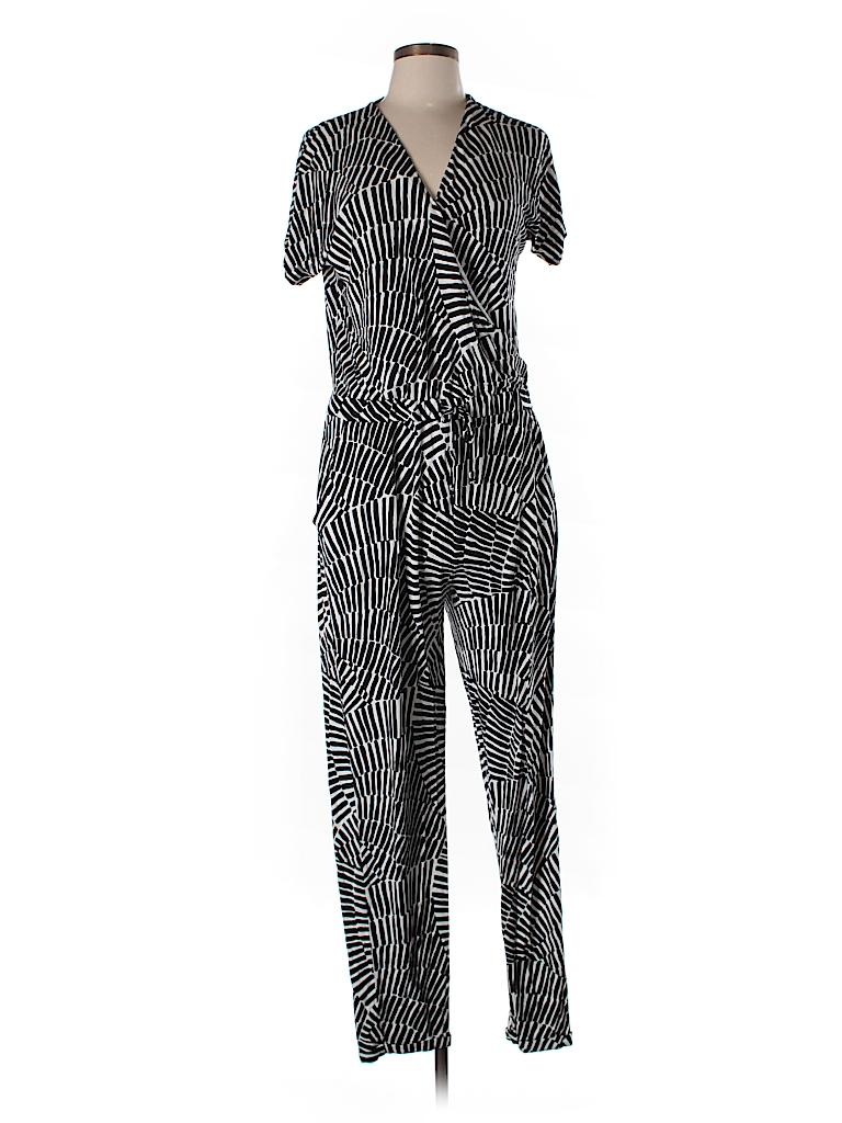 Boden print black jumpsuit size 8 58 off thredup for Boden jumpsuit