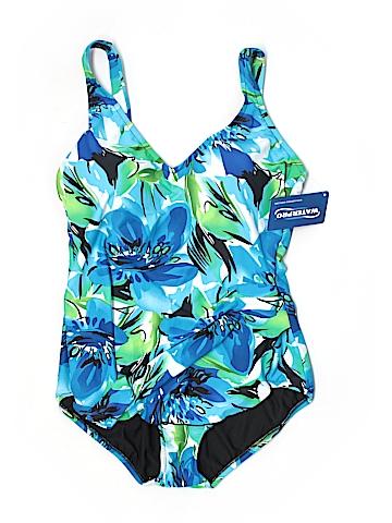Waterpro One Piece Swimsuit Size 16