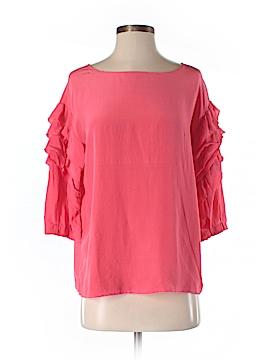 Ya-Da 3/4 Sleeve Silk Top Size M