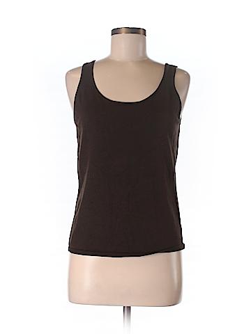 Lauren by Ralph Lauren Women Sleeveless Silk Top Size M