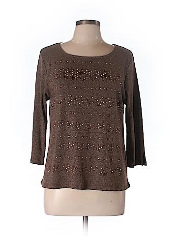Rafaella  Women Pullover Sweater Size L (Petite)