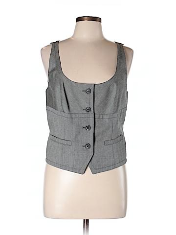 BCBGMAXAZRIA Tuxedo Vest Size 12