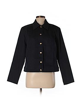 St. John Sport Denim Jacket Size M