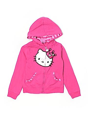 Hello Kitty Zip Up Hoodie Size 14
