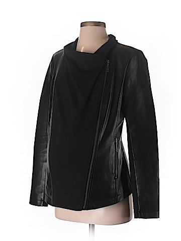 Momo Faux Leather Jacket Size S (Maternity)