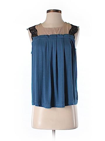 SHULAMI Short Sleeve Top Size M