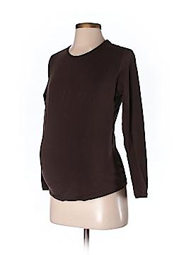 Liz Lange Maternity Long Sleeve T-Shirt Size 2 (Maternity)